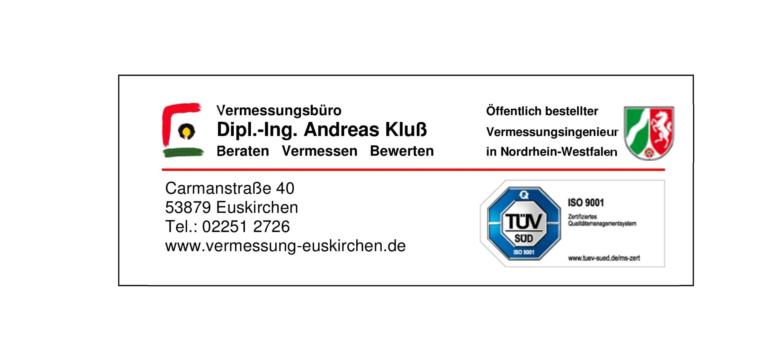 Vermessungsbüro Andreas Kluß